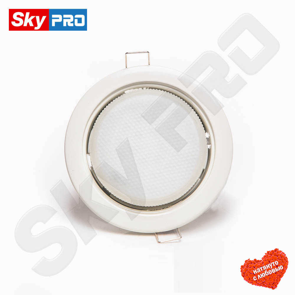 Белый светодиодный светильник SkyPRO 53 купить цена