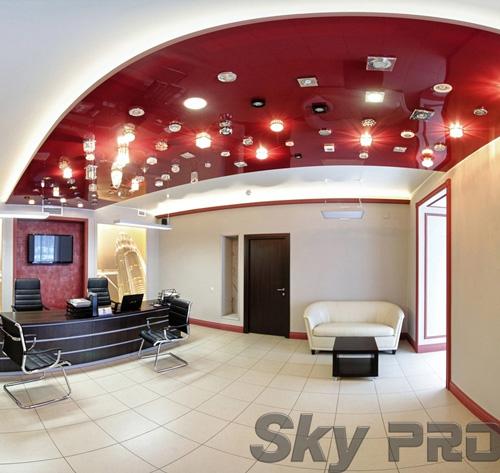 светильники в офисе SkyPRO в Спб